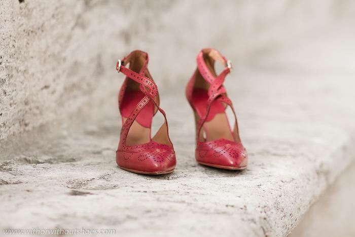 Nuevos zapatos de tac n color fresa de lottusse y concurso for A beautiful addiction tanning salon