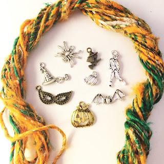 Guild by POD ハロウィンモチーフの毛糸とチャームセット