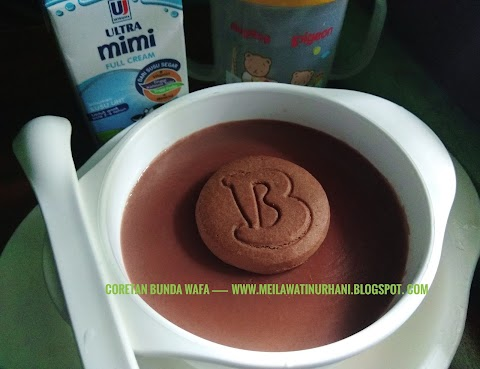 Silky Puding Susu UHT untuk Balita ala Bunda Wafa