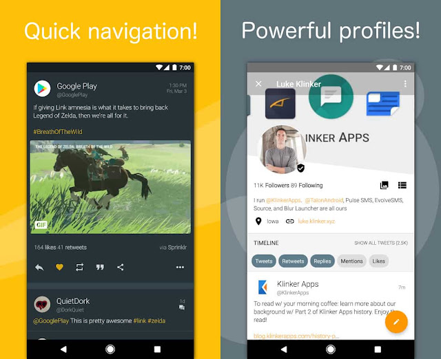 talon for twitter plus apk free download