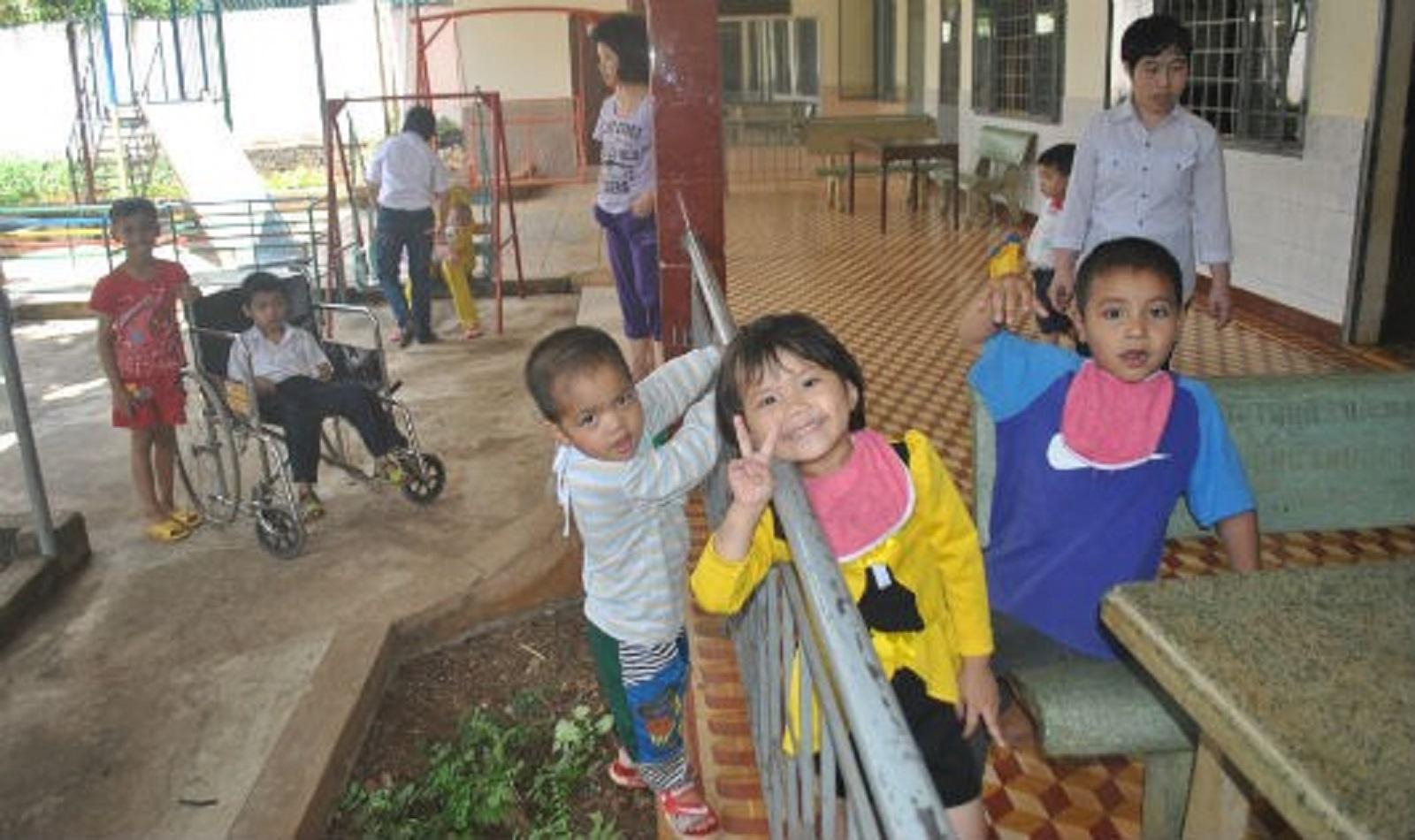 Gia Lai: Tình người ấm áp ở nơi nuôi dưỡng hơn 100 đứa trẻ bất hạnh