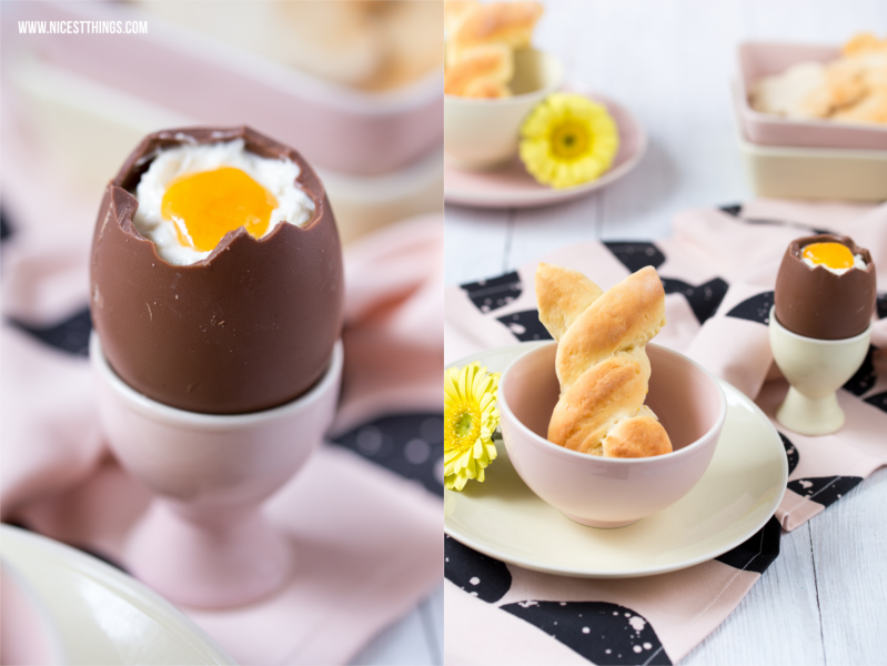 Deko Ideen Ostern Frühstück Tisch