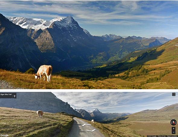 Пейзаж, созданный искусственным интеллектом