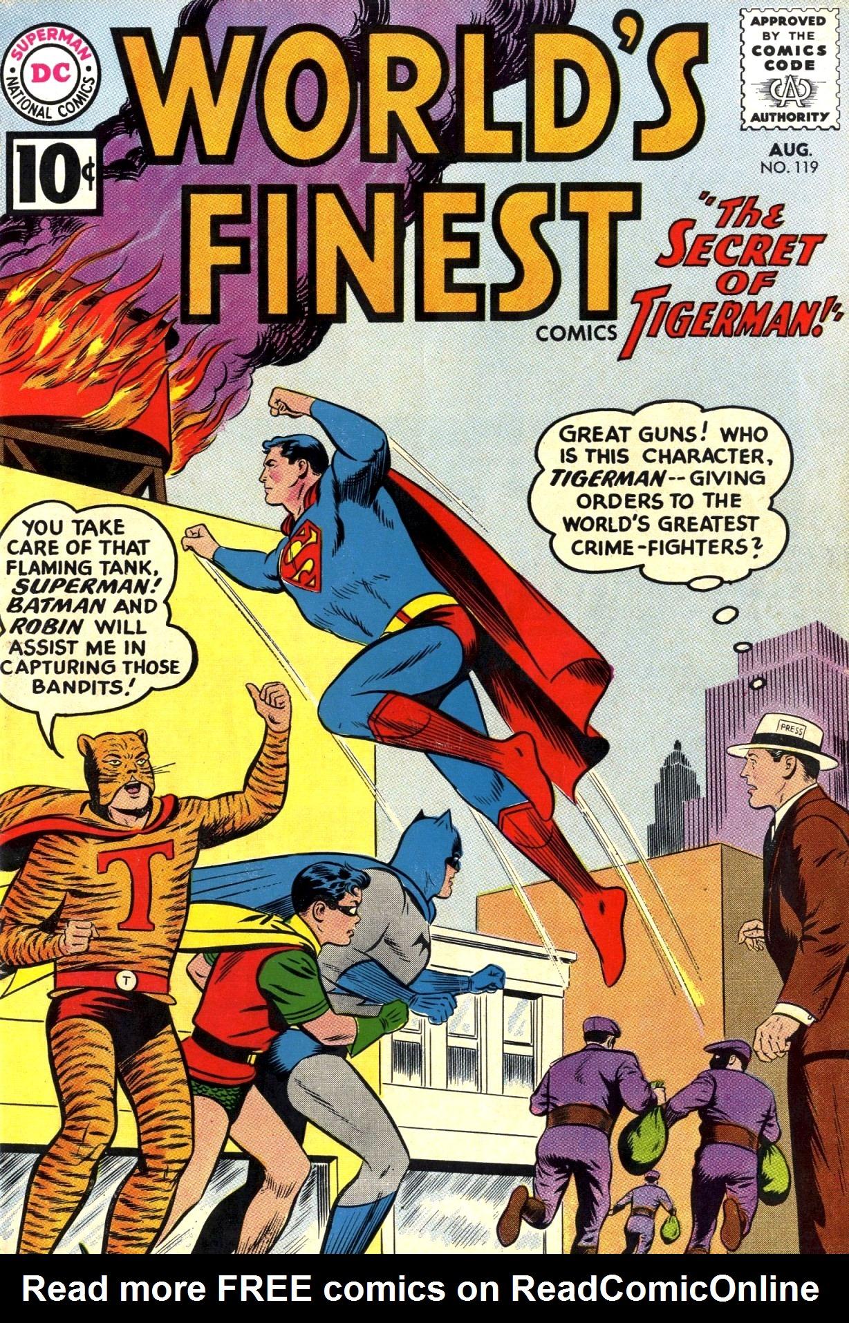 Read online World's Finest Comics comic -  Issue #119 - 1