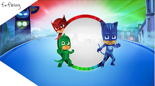 PJ Masks Free Printable Tags.