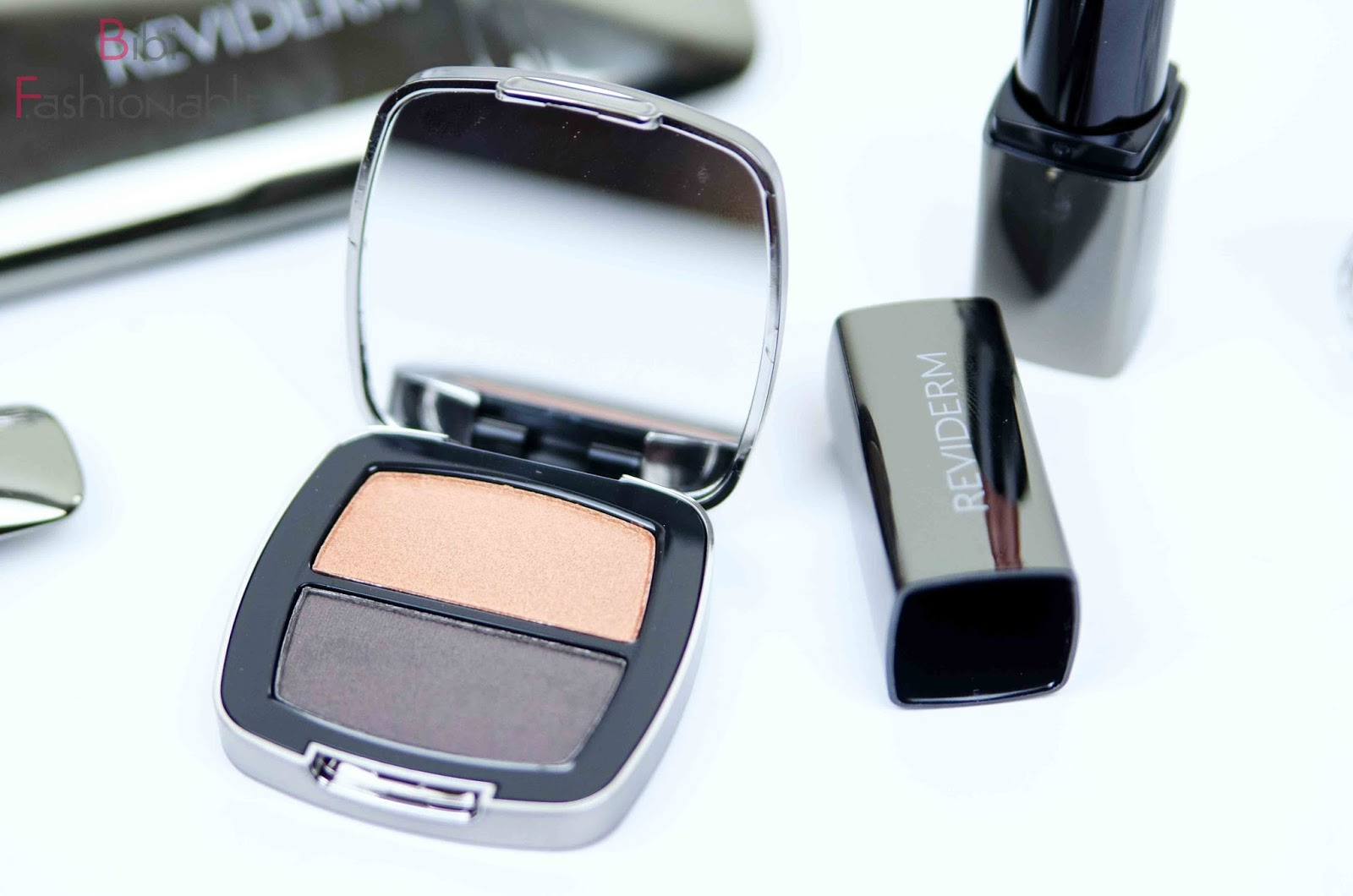 Reviderm try out inkl Look Mineral Duo Eyeshadow Aurora