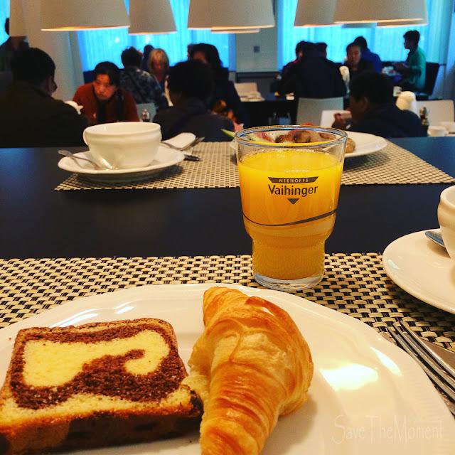 Frühstück im Hotel Mercure in Nürnberg
