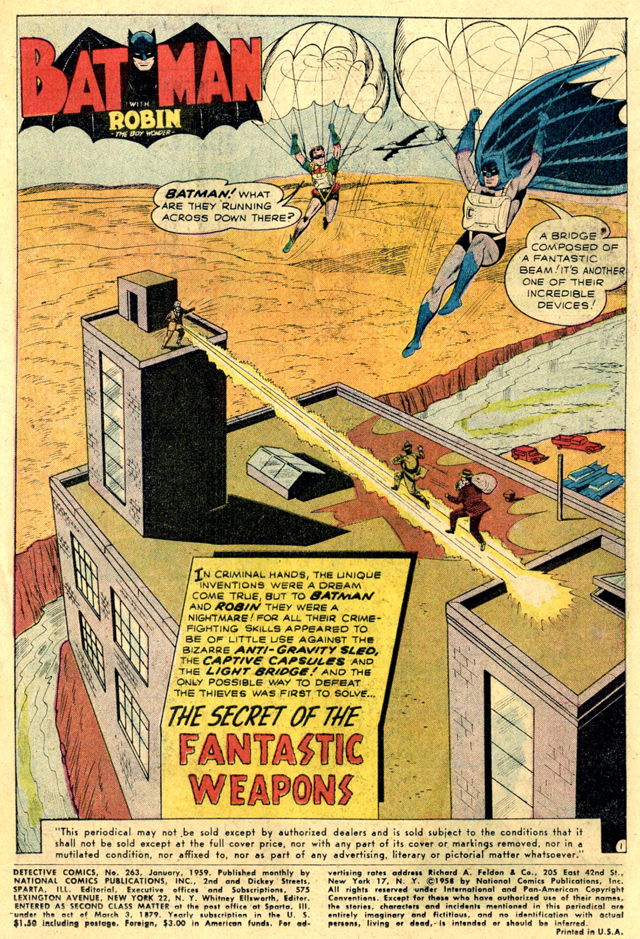 Read online Detective Comics (1937) comic -  Issue #263 - 3