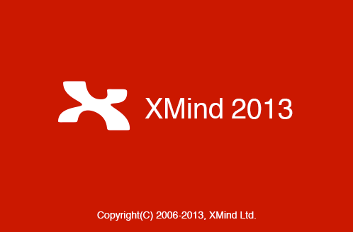 XMind 2013 splash mark