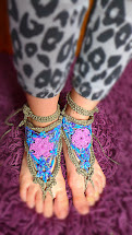 Crochet Barefoot Sandals Girls & Mums
