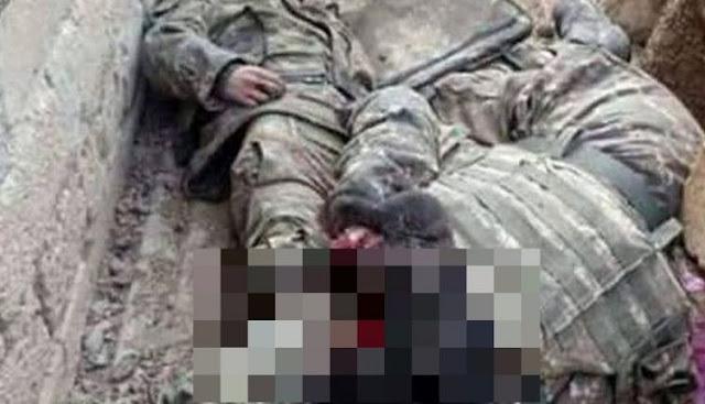 Εικόνες κατάρρευσης: Βαρύτατος ο «φόρος» αίματος για τους Τούρκους στο Αφρίν – Σκοτώθηκαν 30 άνδρες σε 24 ώρες