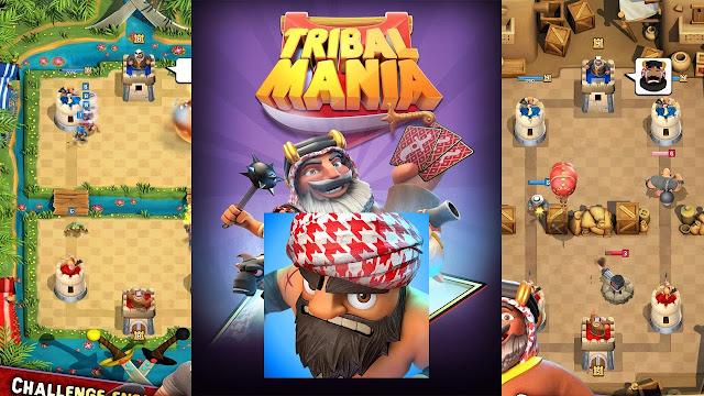 تحميل لعبة بيرق tribal mania 2017 كلاش رويال العربية الجديدة مجانا