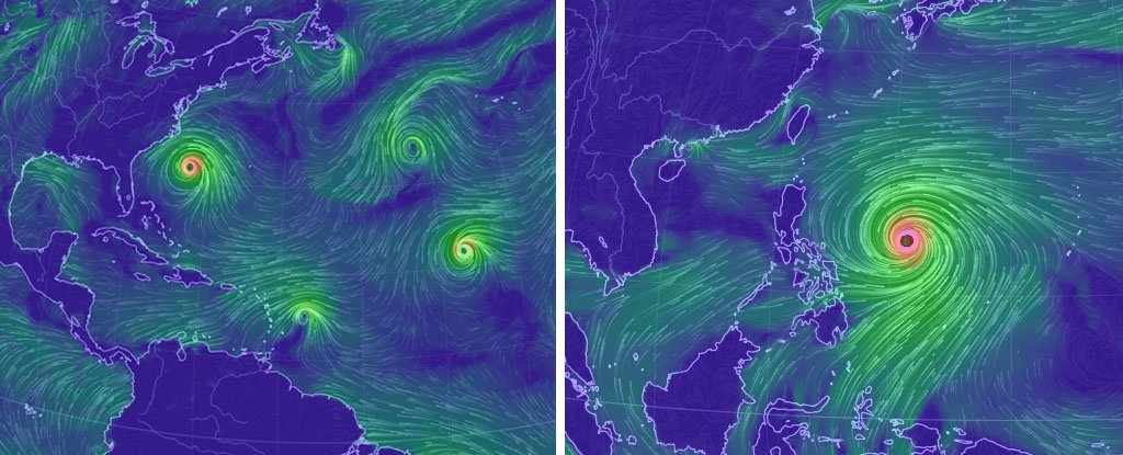 The Earth's Oceans Have Just Exploded With Tropical Storms, With Six Active Ones At The Moment