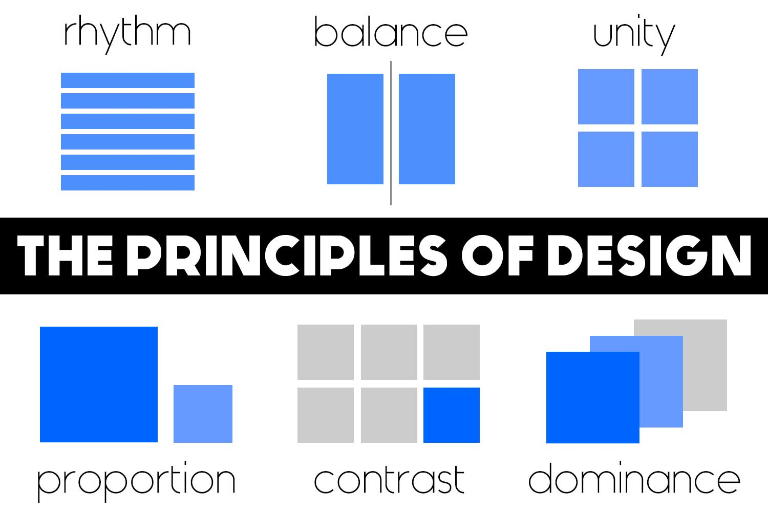 Color Principle Of Design : Principles of design onlinedesignteacher
