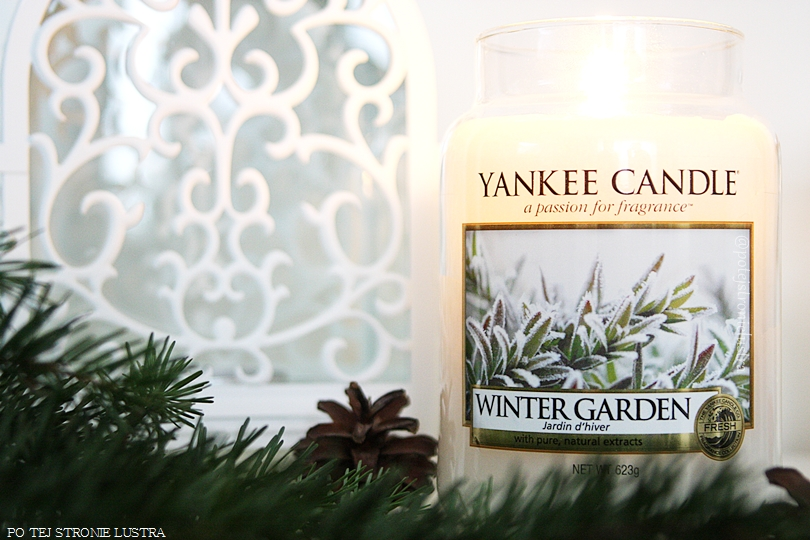 świeca zapachowa yankee candle winter garden