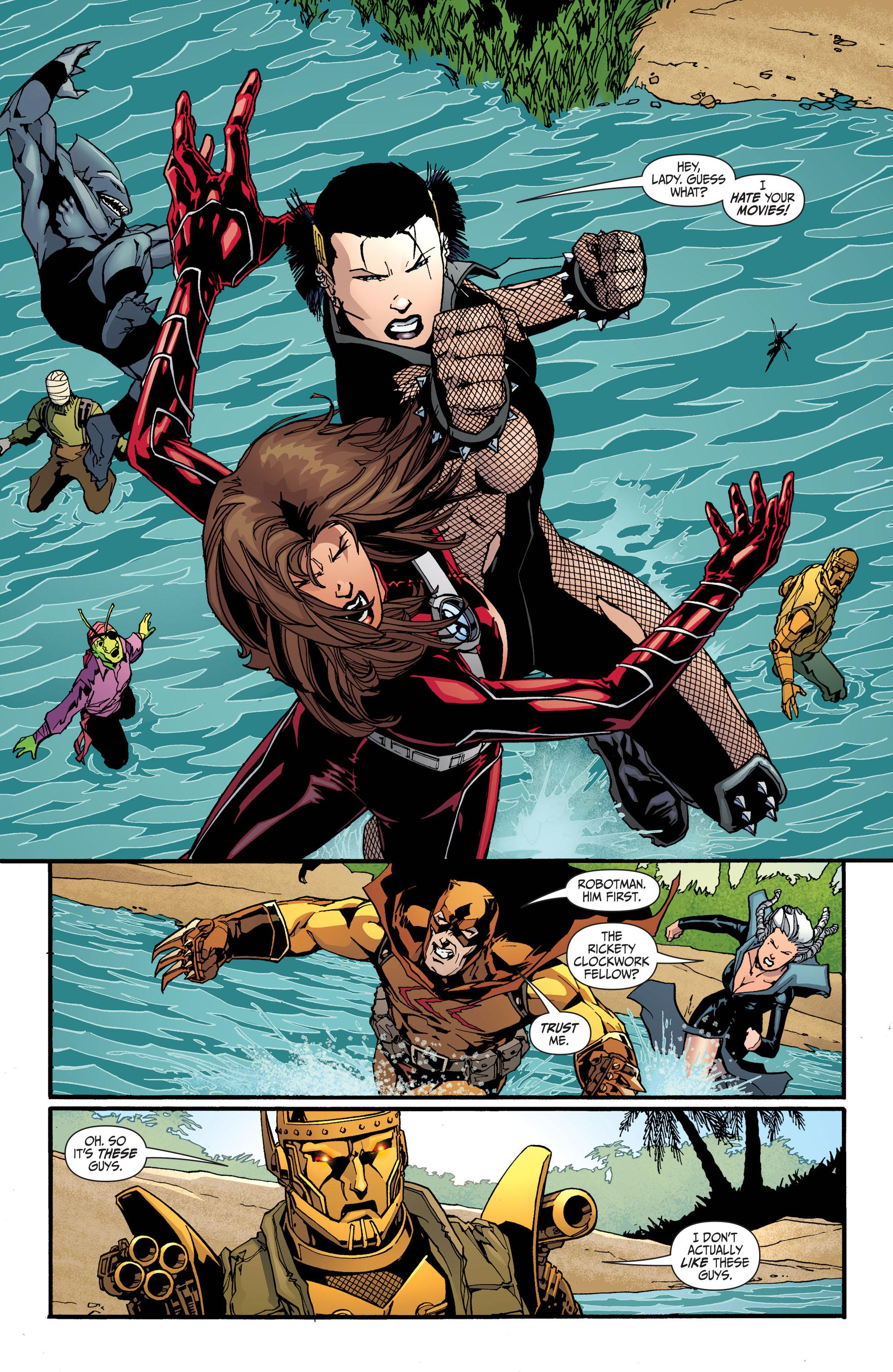 Read online Secret Six (2008) comic -  Issue #30 - 17