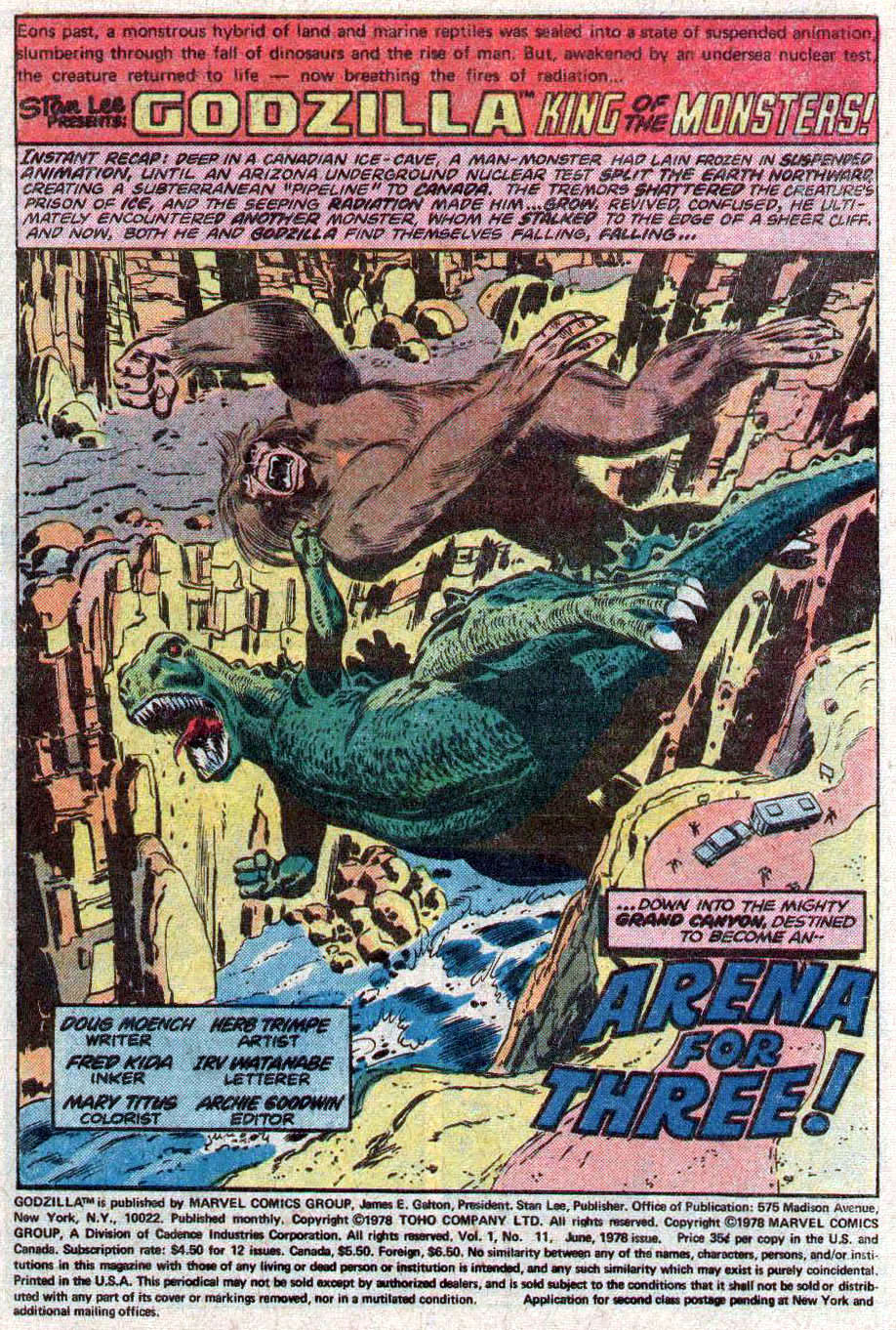 Godzilla (1977) Issue #11 #11 - English 2