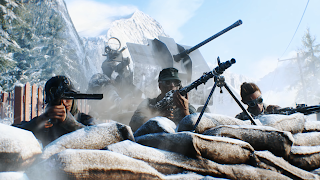 Battlefield V PS4 Background