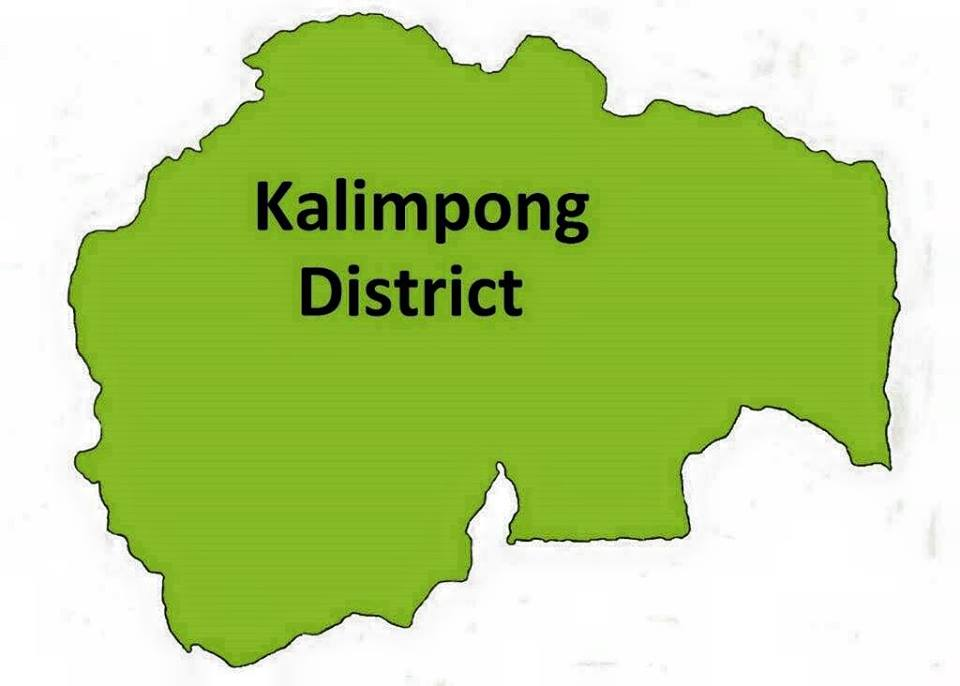 Kalimpong District Map