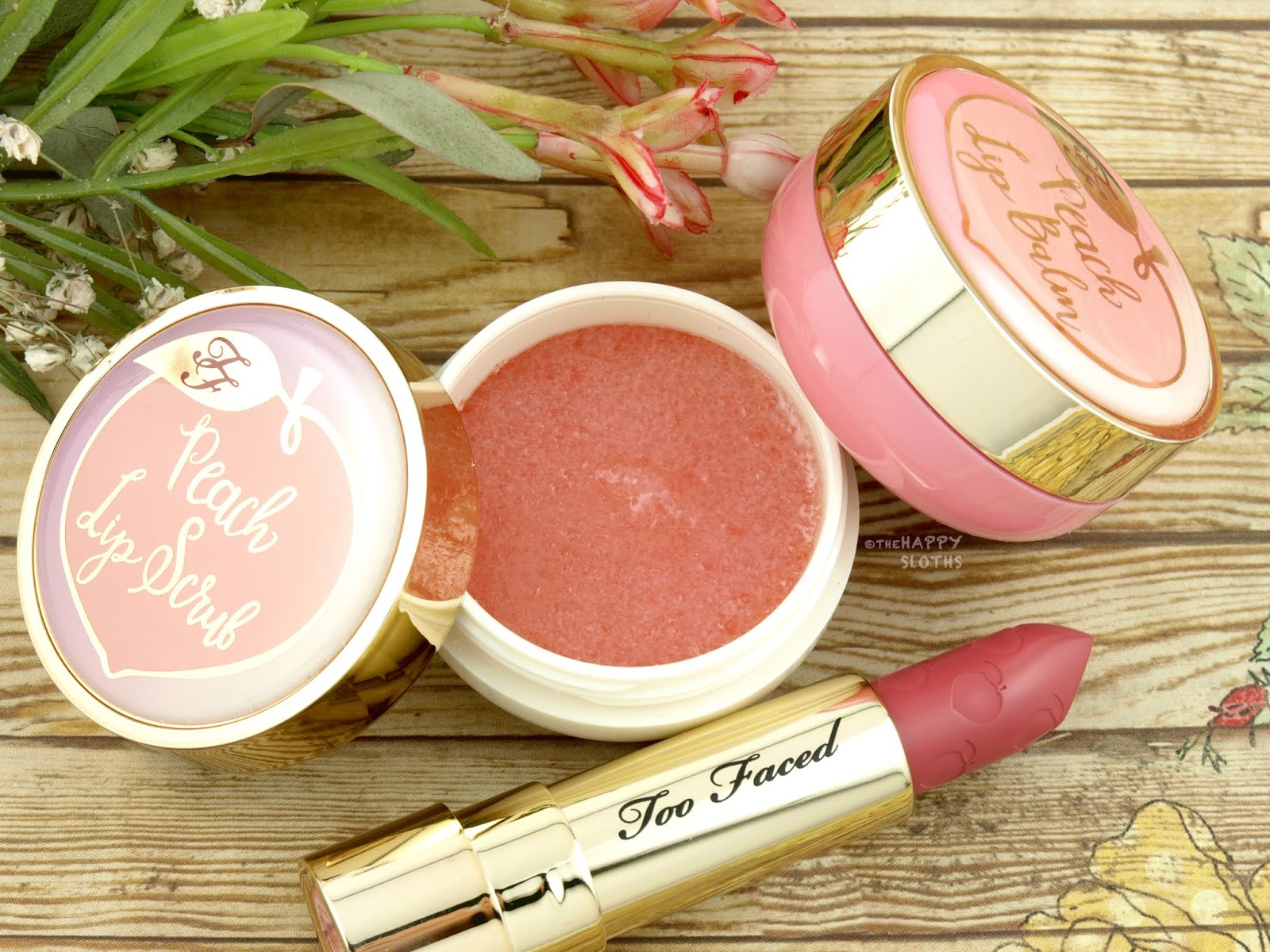 Too Faced | Peach Lip Scrub: Review
