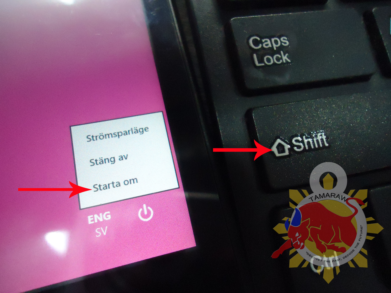 TAMARAW8: Windows Lamina Tablet Forgotten Password, Reset
