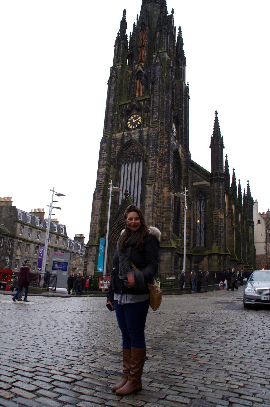 Royal Mile Edinburgh Scotland