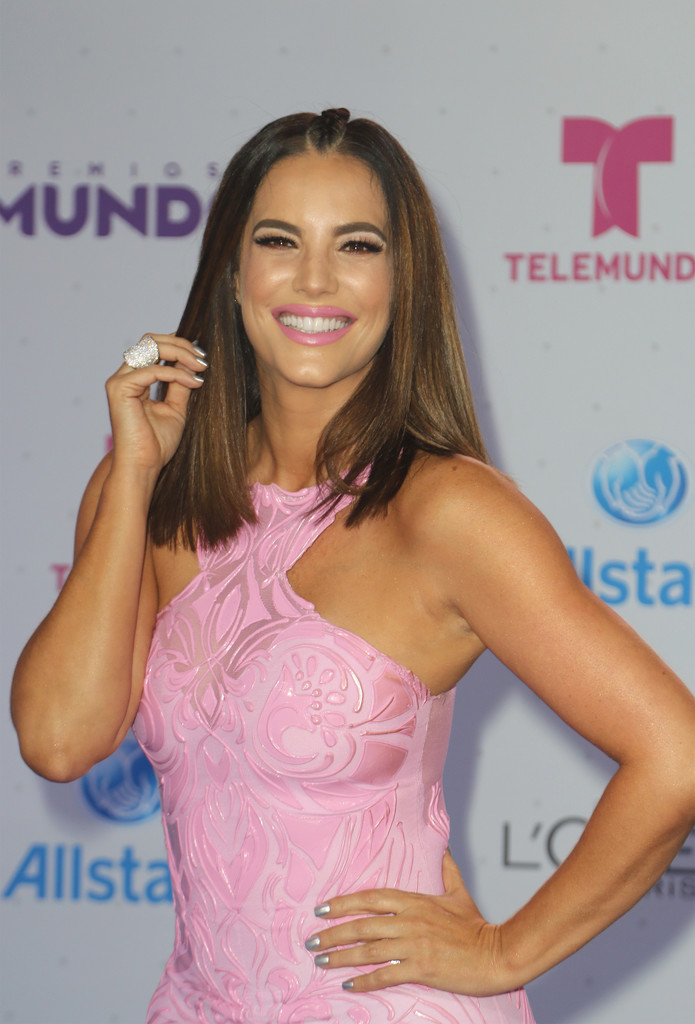 Model Gaby Espino hot images at Your World Awards in Miami ...