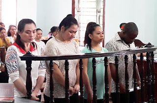Photo: Nigerian man sentenced to 18 years in prison for duping over 40 Vietnamese women