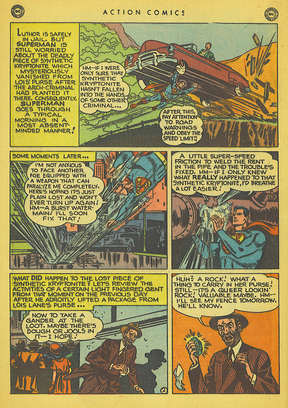 Read online Action Comics (1938) comic -  Issue #142 - 3