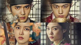 drama korea saeguk sageuk terbaik terbaru rating tertinggi terkeren terbaper drama korea kerajaan terbaik 2013 2014 2015 2016 2017 kim so hyun drama korea l infinite