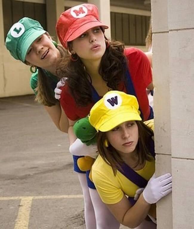 Os melhores cosplays femininos do Mario Bros
