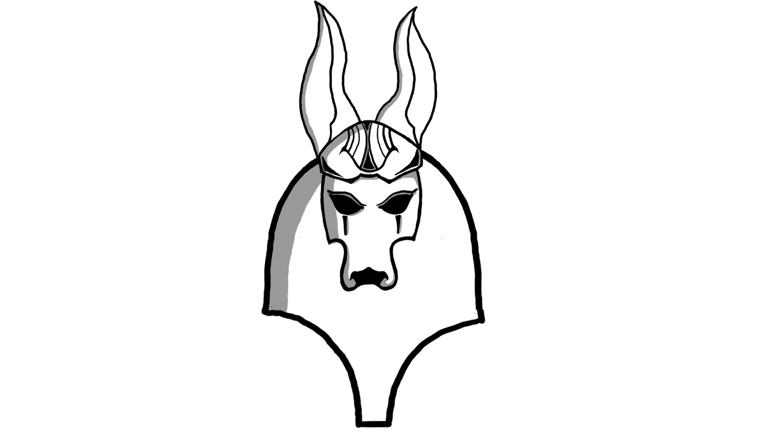Free egyptian head dress coloring pages