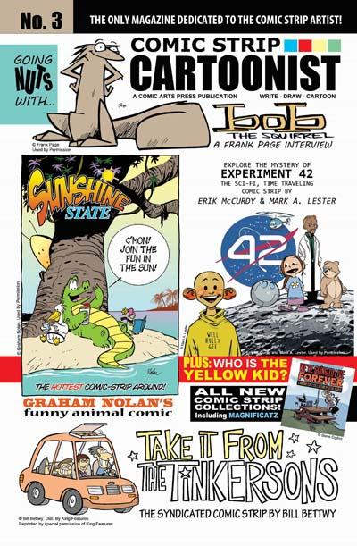 COMIC ARTS PRESS PUBLICATIONS