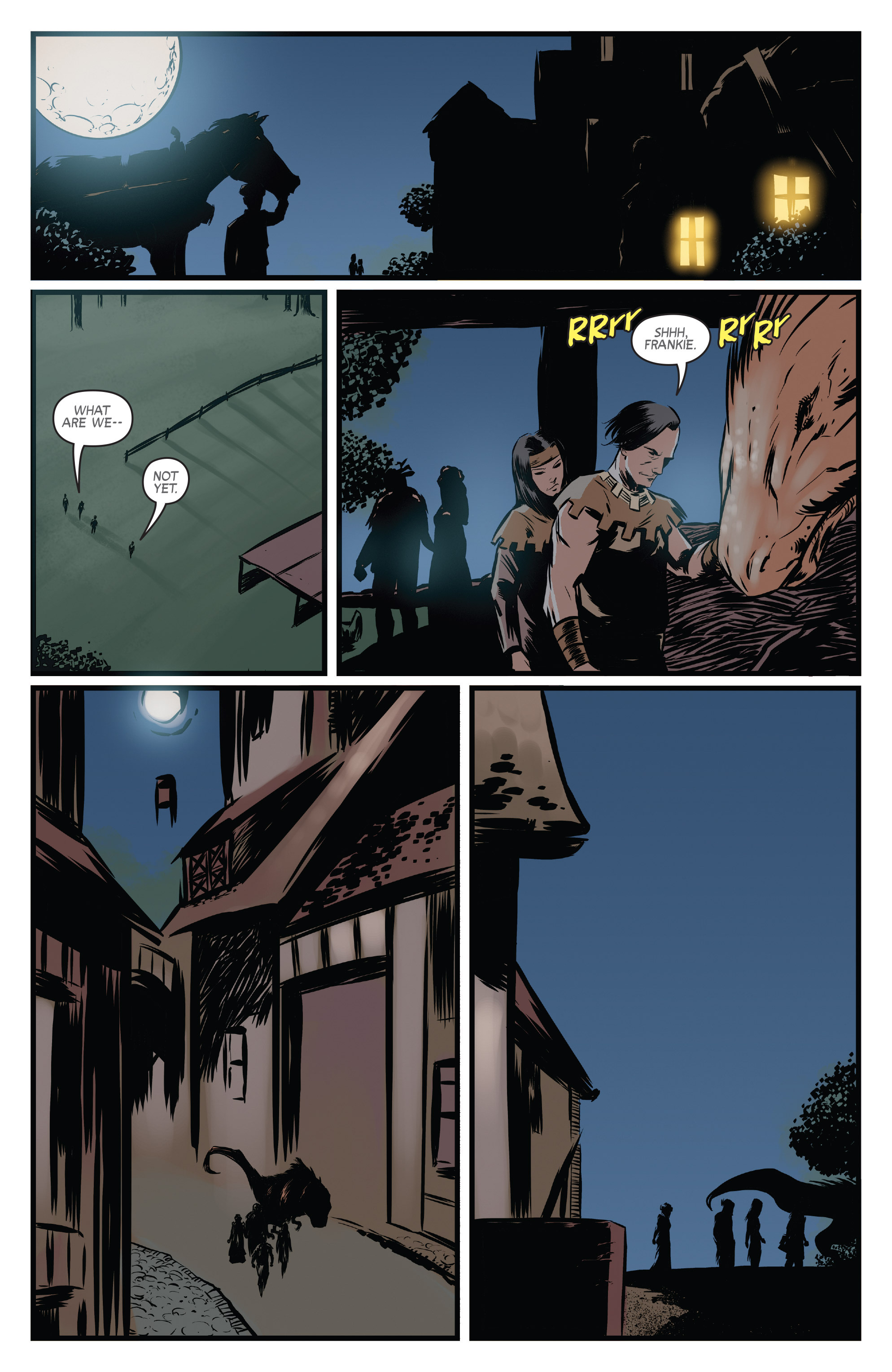 Read online Turok: Dinosaur Hunter (2014) comic -  Issue # _TPB 3 - 47