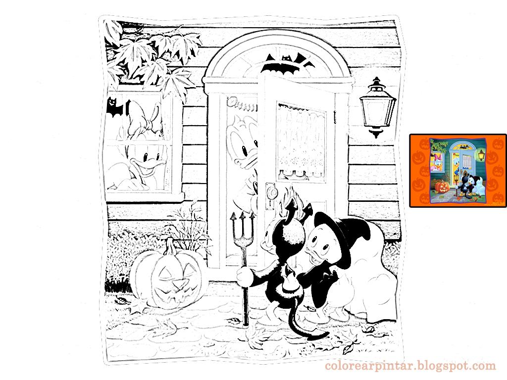 Dibujos Fondos De Escritorio Imagenes Disney En Halloween Para