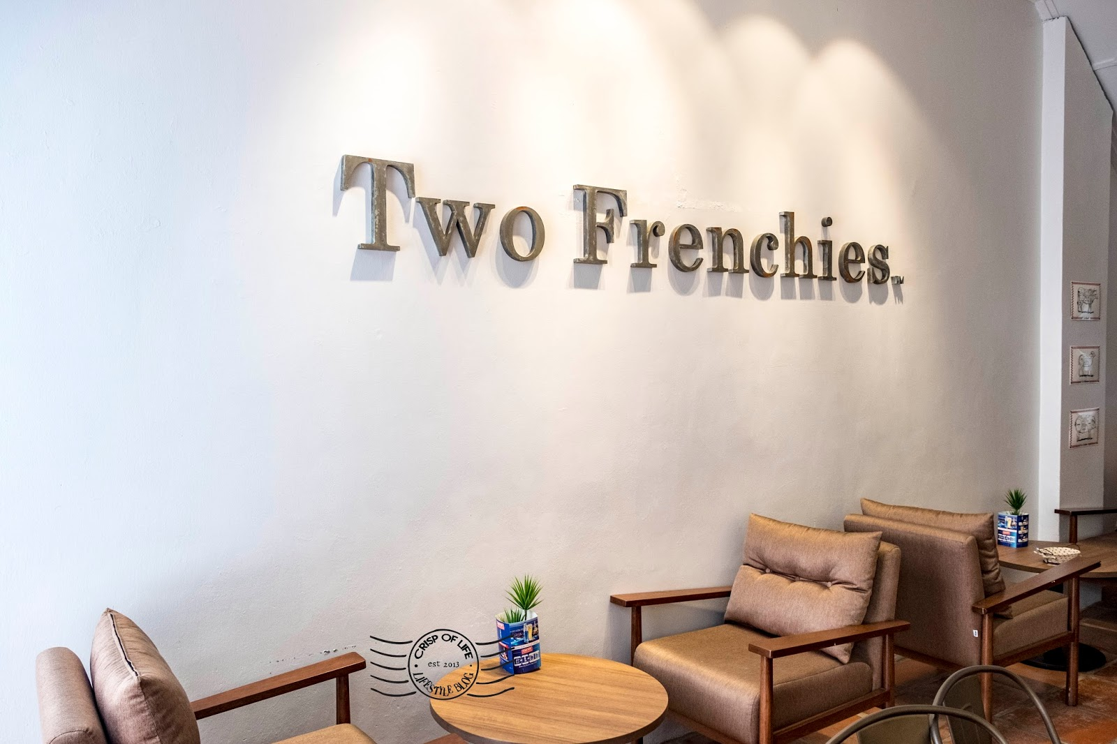 Two Frenchies Cafe Bistro Lebuh Bishop Georgetown Penang