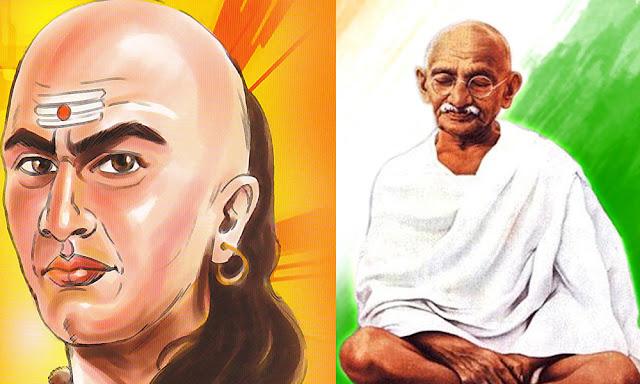 India is the birthplace of great thinkers- Aryabatta, Chanakya (kautilya), Gandhi
