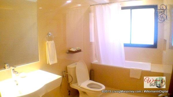 Toilet and Bathtub