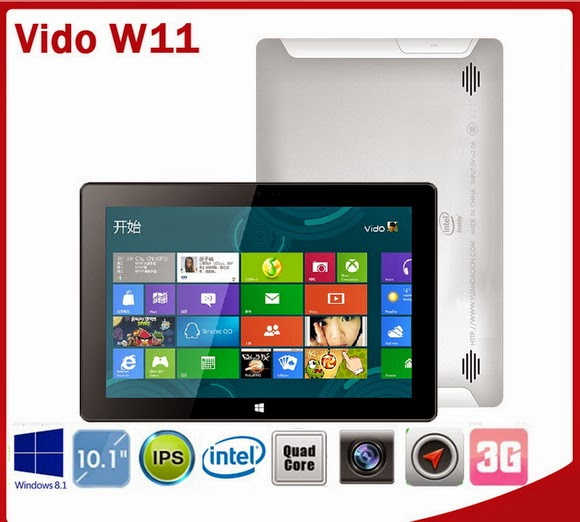 Download firmware update tool for Vido W11 3G Windows 8 1