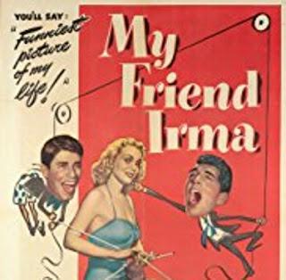 Carátula de la versión americana de «My friend Irma»- ABC