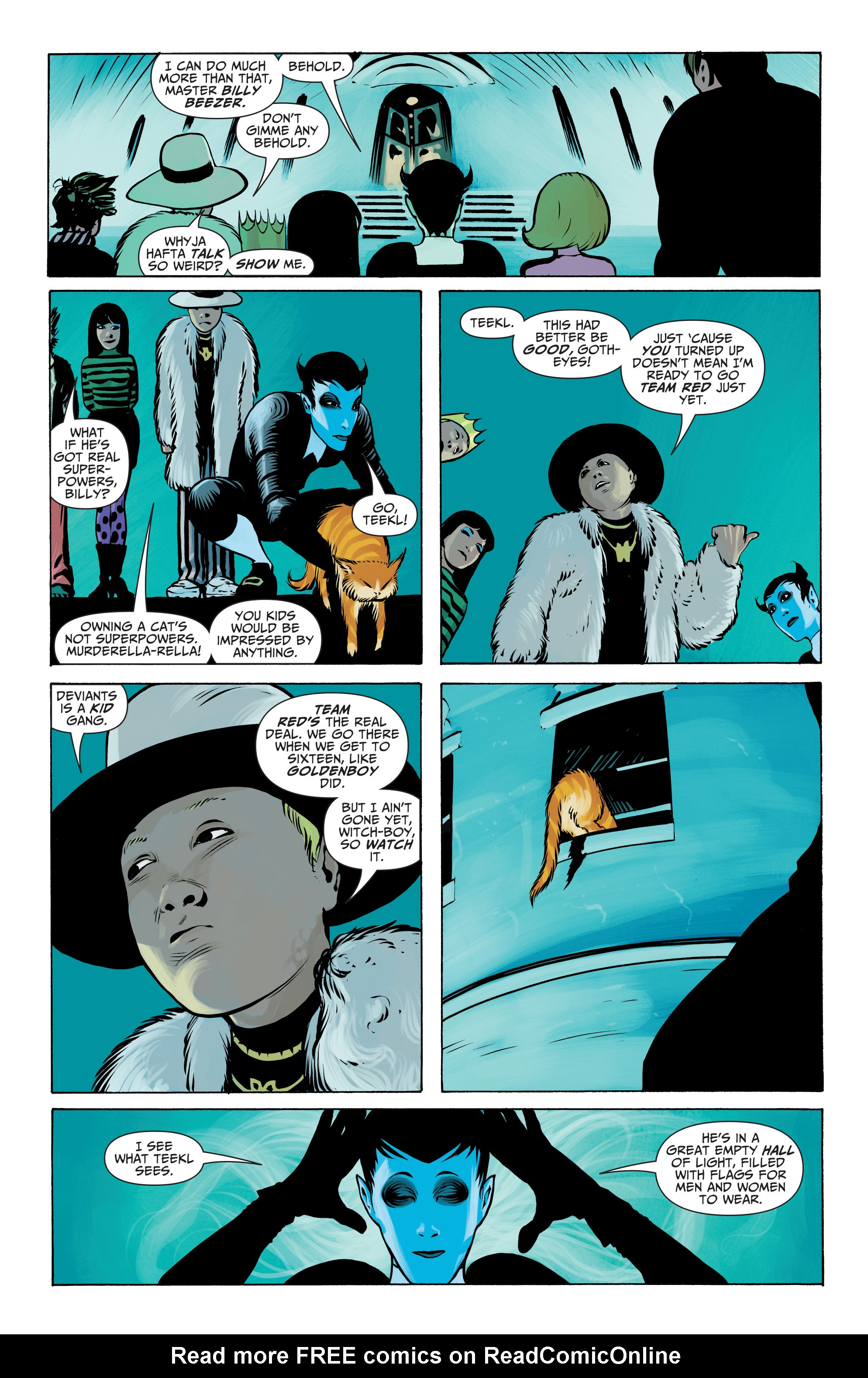 Read online Seven Soldiers: Klarion the Witch Boy comic -  Issue #3 - 8