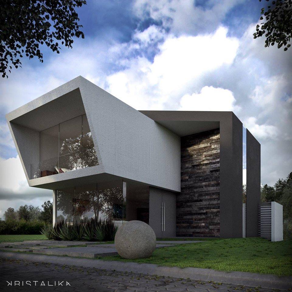 80 Desain Rumah Mewah Minimalis Modern 2 Lantai Model Terbaru