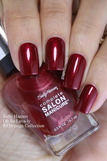 Sally Hansen Oh So Lava-ly