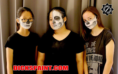Make Up Halloween Skeleton Jakarta