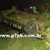 Jovem de 18 anos capota carro na noite desta sexta-feira (10) em Araruna PB