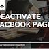 Deactivate Fb Page