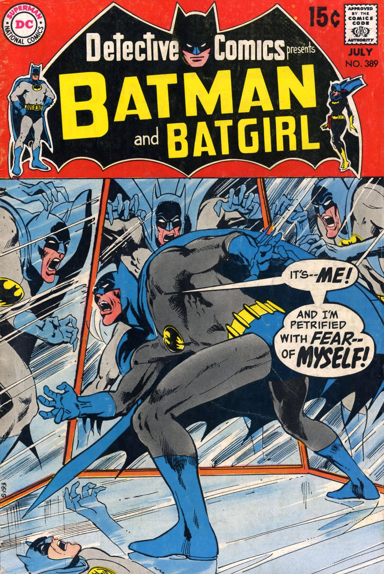 Detective Comics (1937) 389 Page 0