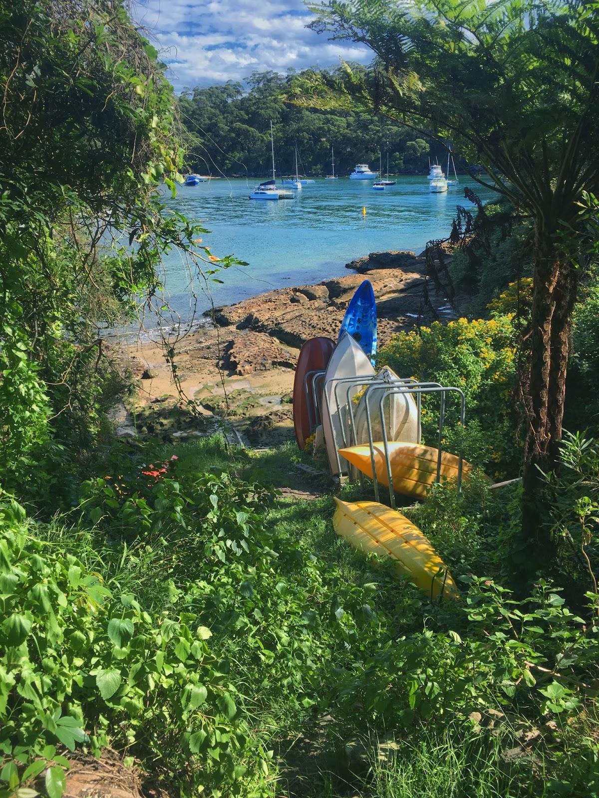 Colourful boats on Taronga to Balmoral Walk