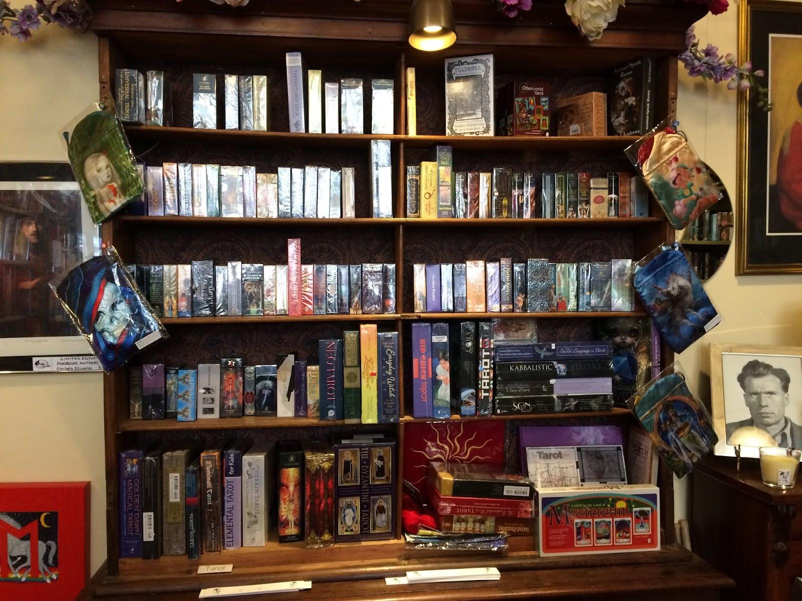 Inside The Atlantis Bookshop