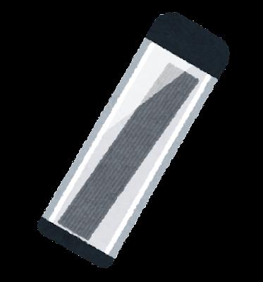 シャープペンの芯のイラスト